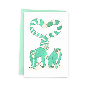 Lemur Love Card - The Baltic Club