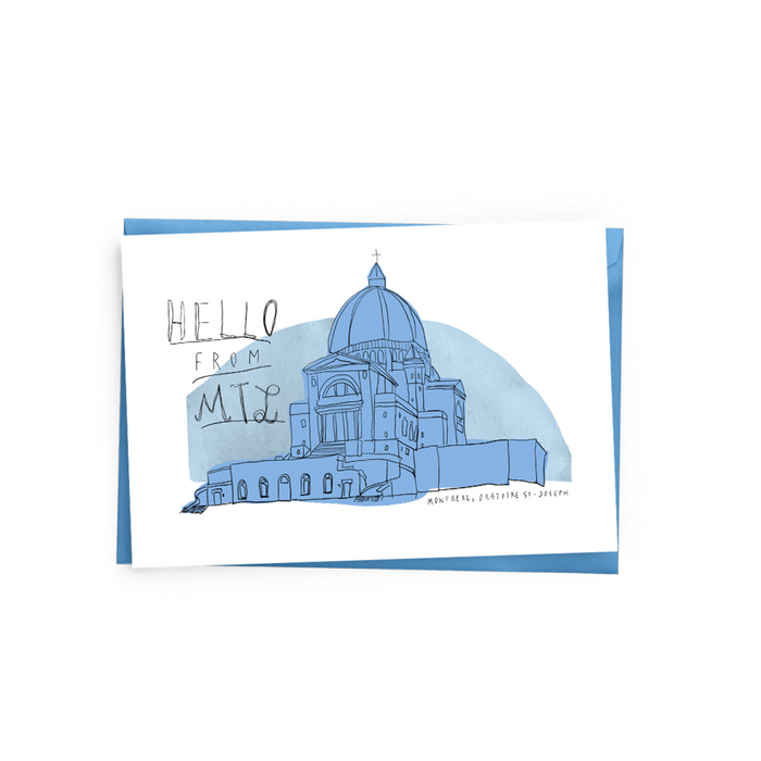 Saint-Joseph's Oratory (Montréal) Card - The Baltic Club