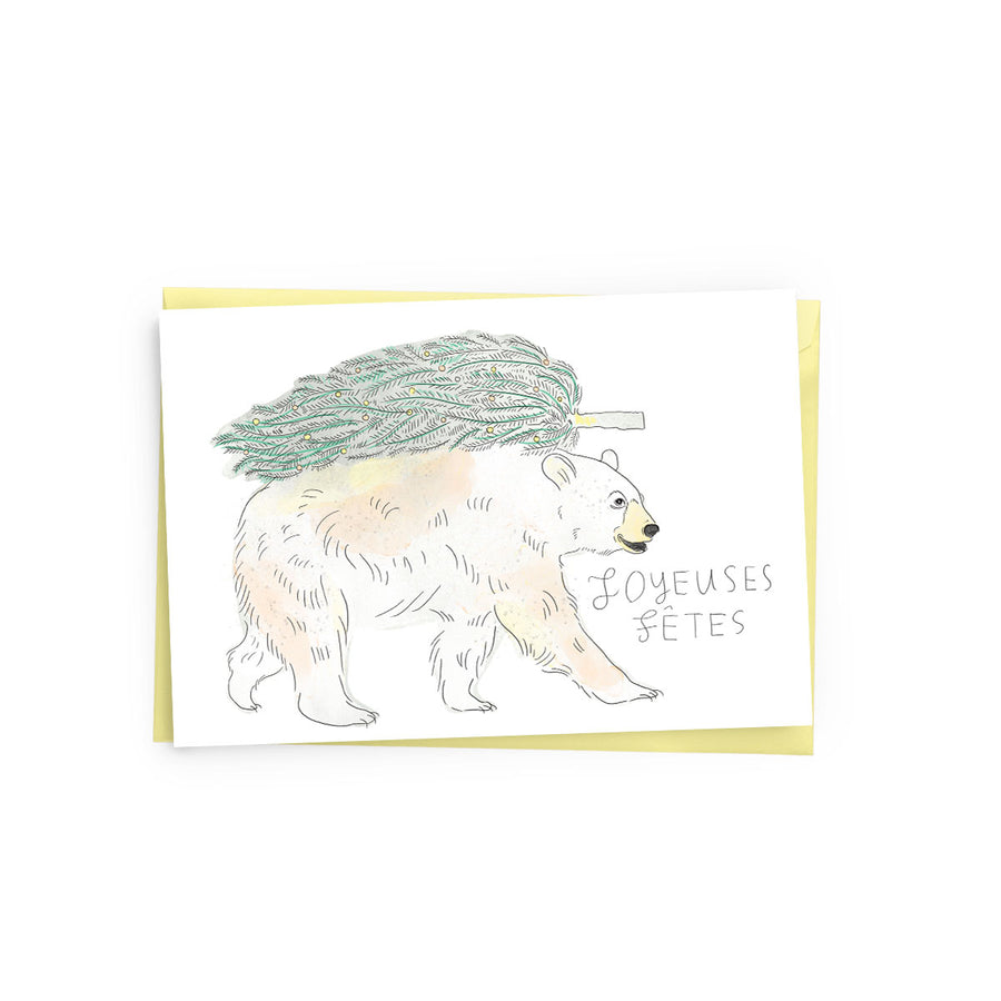 Holiday Bear Card - The Baltic Club