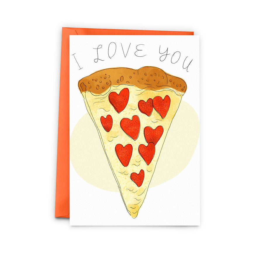 Pizza Love Card - The Baltic Club