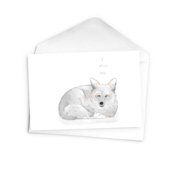 Arctic Fox Card - The Baltic Club