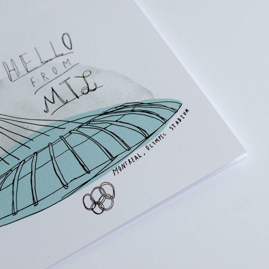 Olympic Stadium (Montréal) Card - The Baltic Club