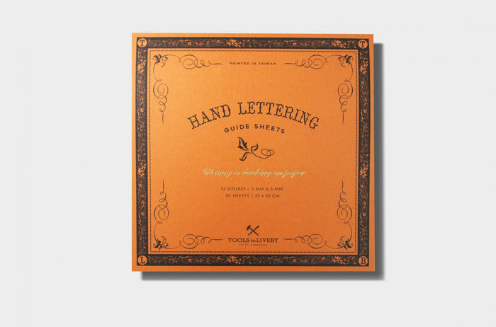 Hand Lettering Pad - The Baltic Club
