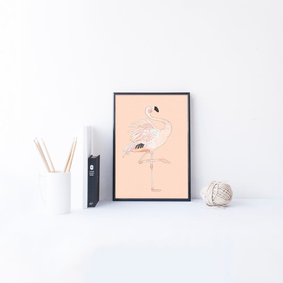 Flamingo Art Print - The Baltic Club