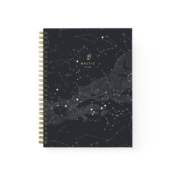 Constellation Spiral Notebook