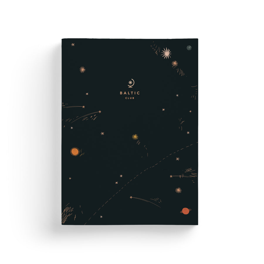 Shooting Stars Notebook
