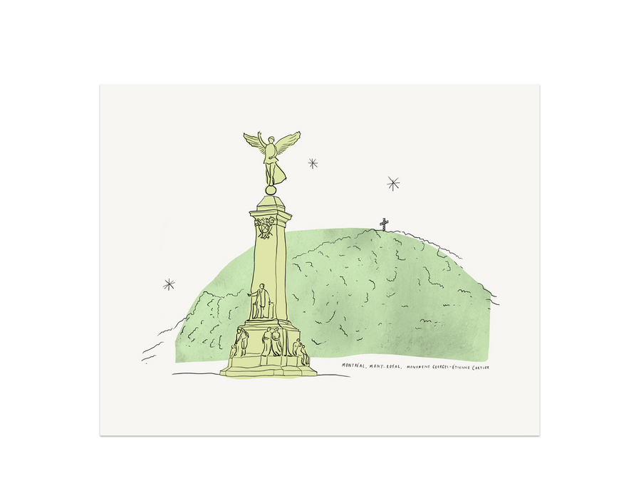 Montreal - Mount-Royal Art Print