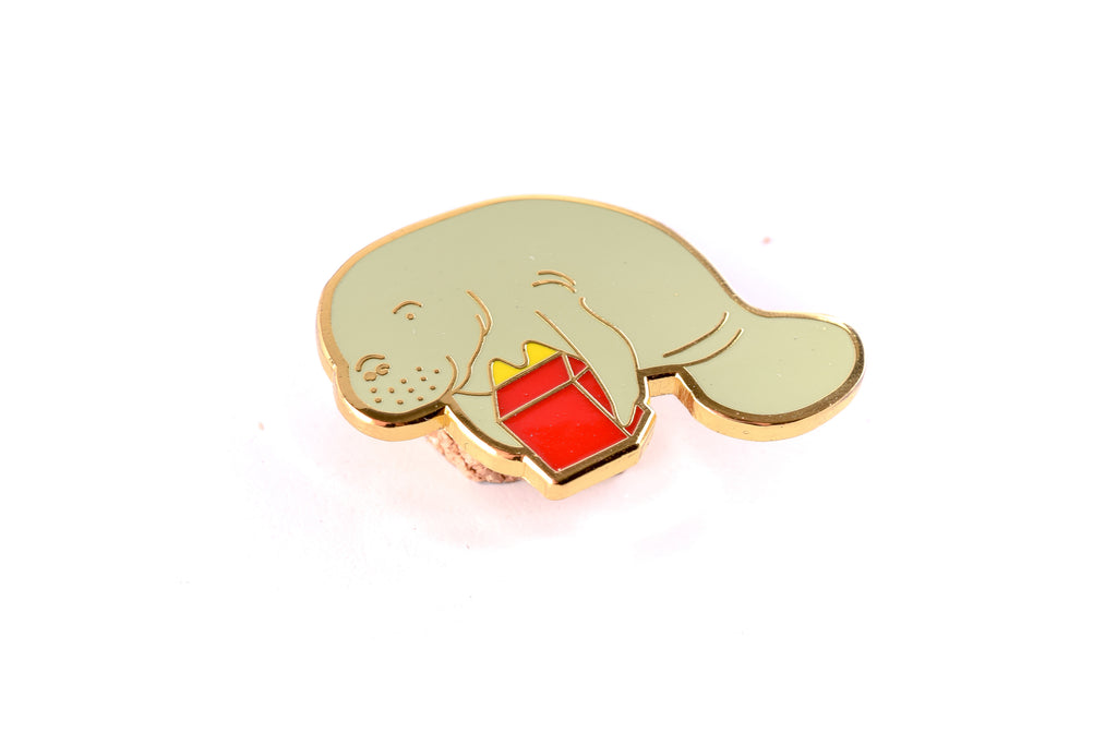 Manatee Enamel pin - The Baltic Club