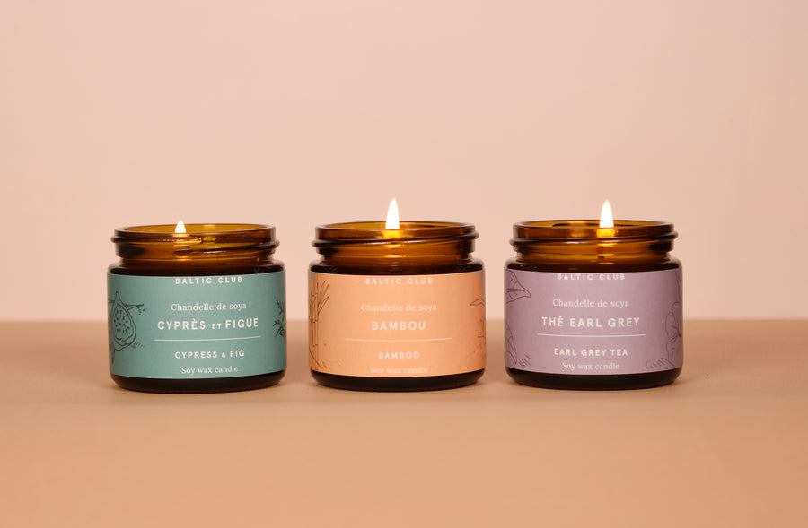 Mini Candle Gift Set Trio