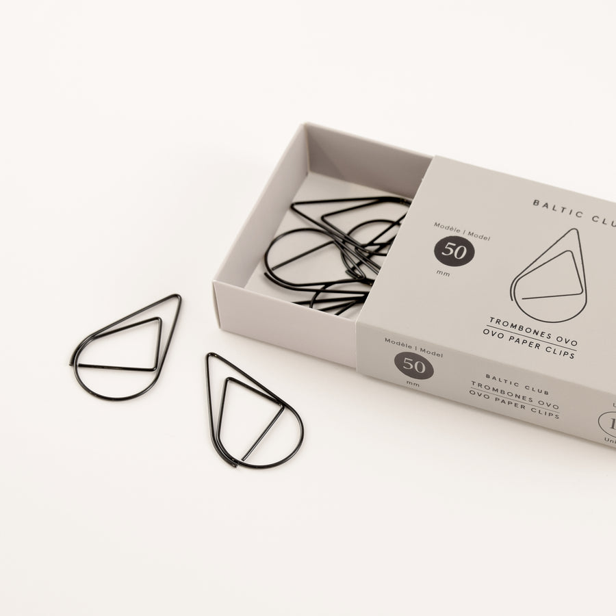 Ovo Paper Clips - Multiple Colours