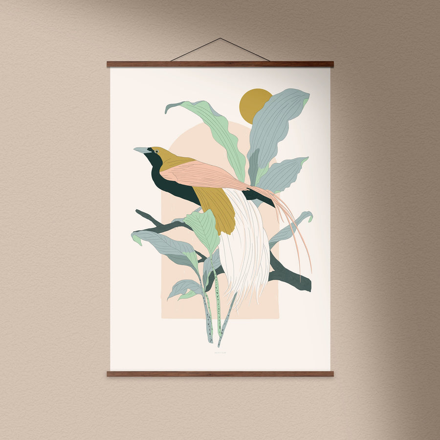 Arcade (Greater Bird-of-Paradise) Art Print
