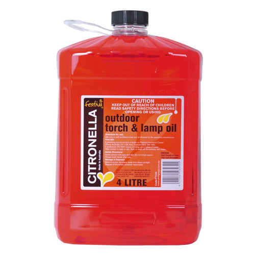 Citronella Lamp Oil 4 Litre
