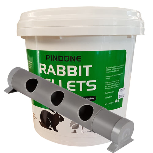 Pindone AgTech Rabbit Pellets 10 kg With MultiFeeder