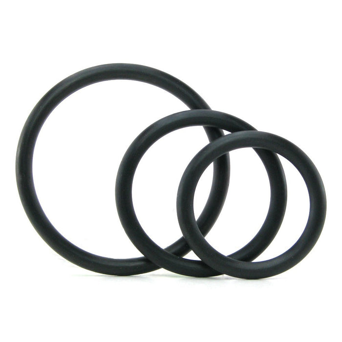 Spartacus - Black Rubber C-Ring Set