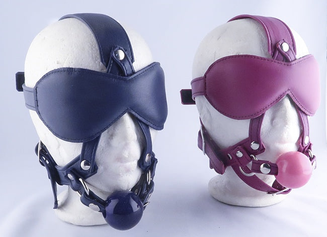 Playdate Ball Gag Head Harness