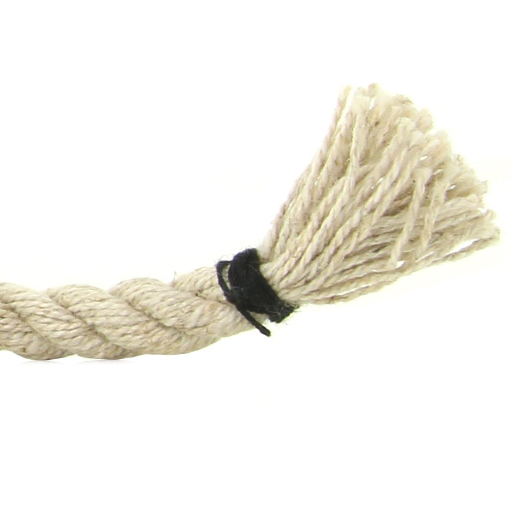 Kink Hogtied Hemp Rope - 30' x 6mm