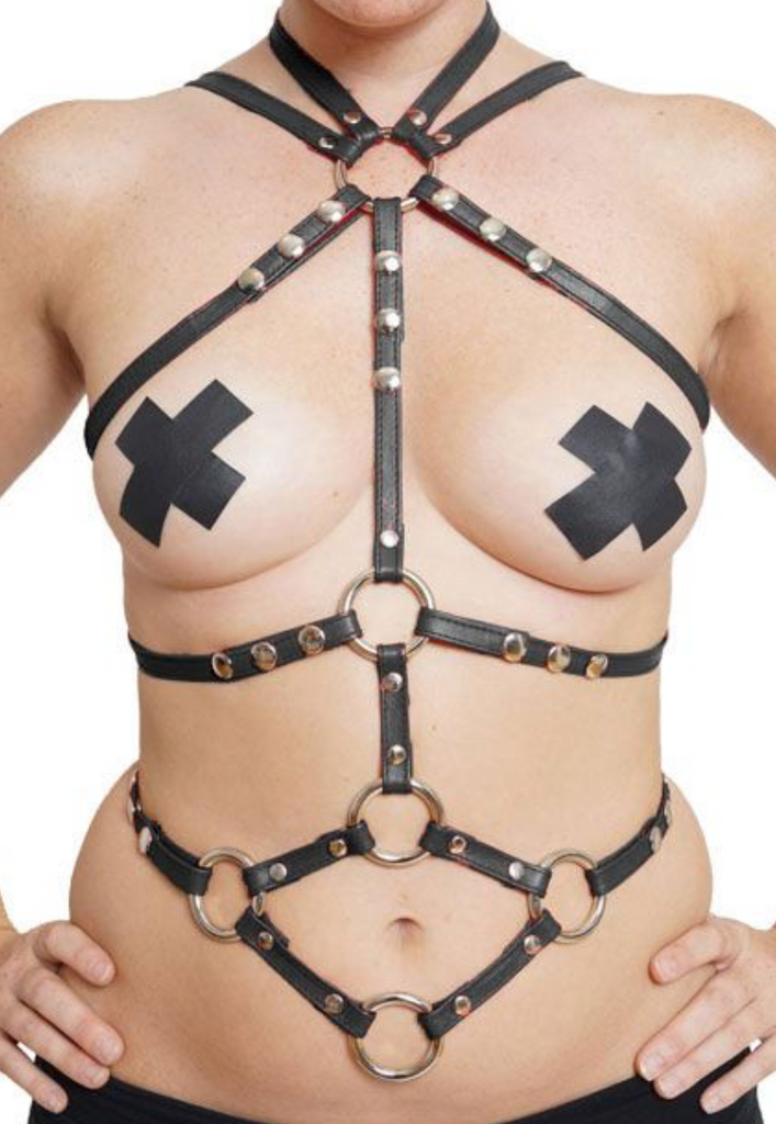 Priape Leather Torso Harness