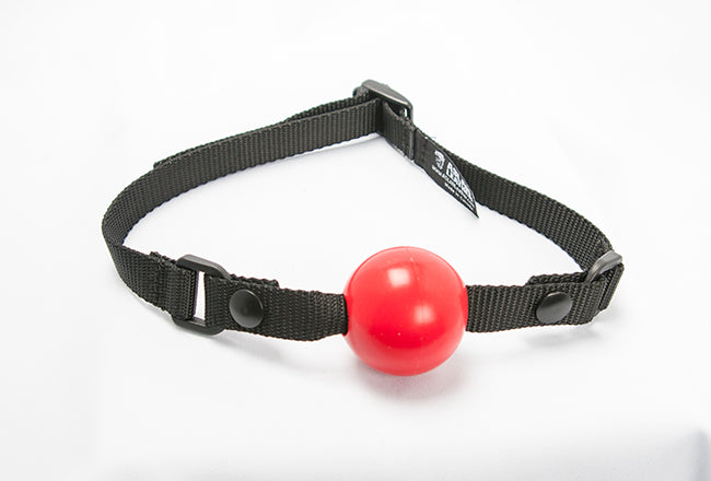 Silicone Vegan Ball Gag by Aslan