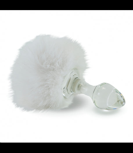 Magnetic Bunny Tail Attachment (Tail only, No plug) by Crystal Delights