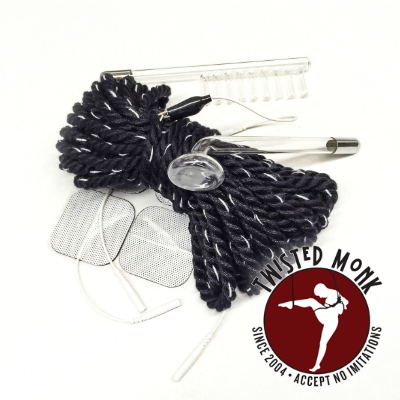 Twisted Monk - Bamboo E-Stim Rope