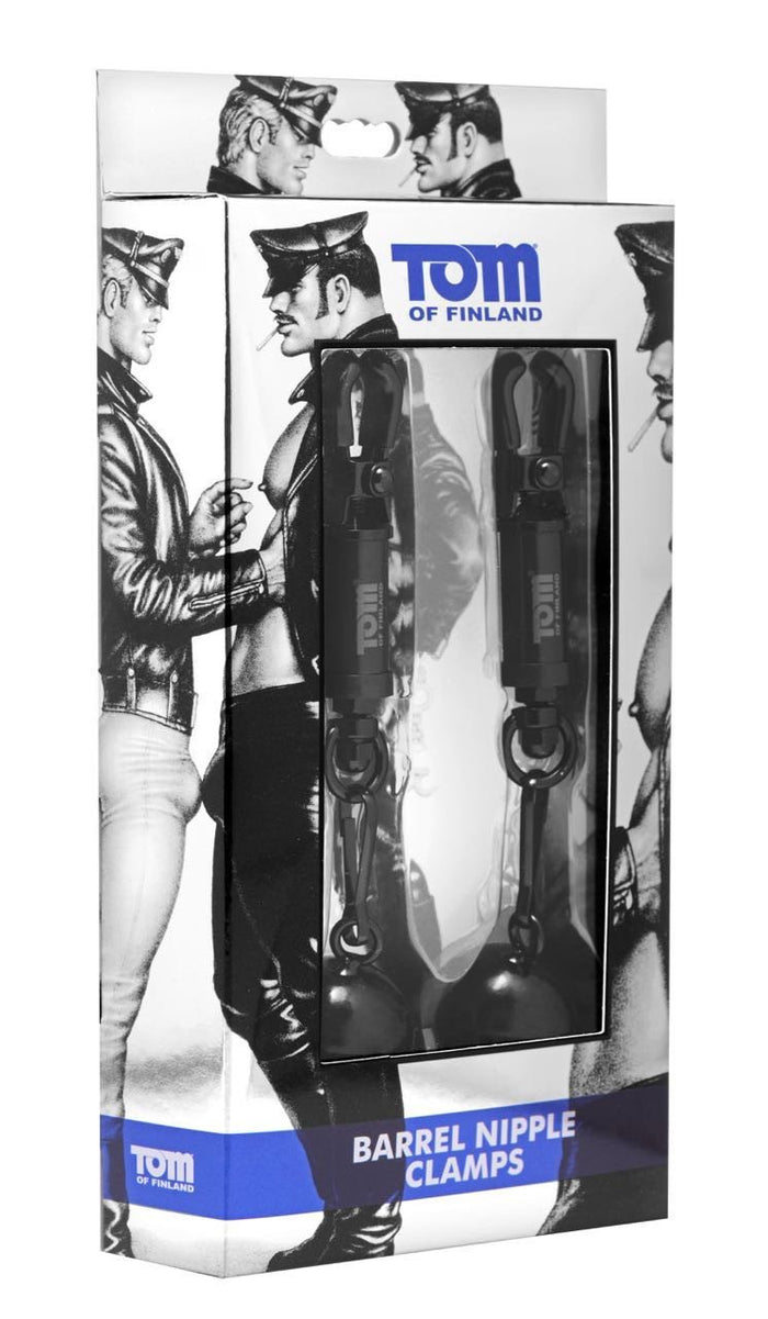 Tom of Finland - Barrel Nipple Clamps