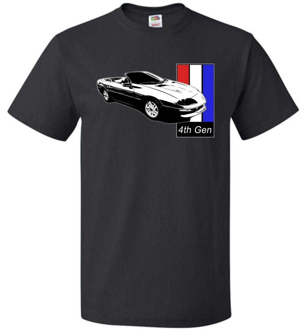 4th gen Chevy Camaro T-Shirt | Camaro Shirt | Aggressive Thread Auto Apparel