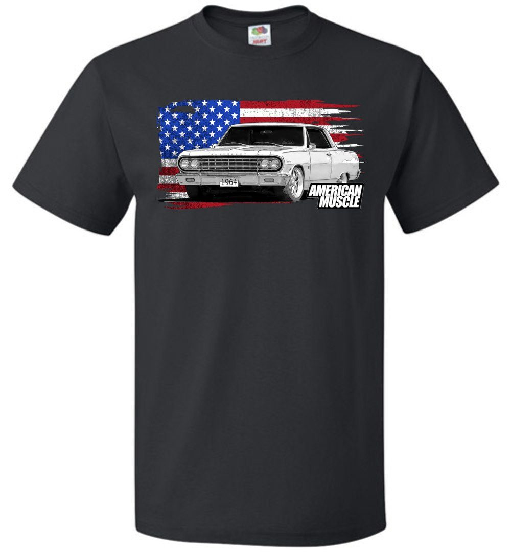 1964 Chevrolet Chevelle T-Shirt | Aggressive Thread Muscle Car Apparel