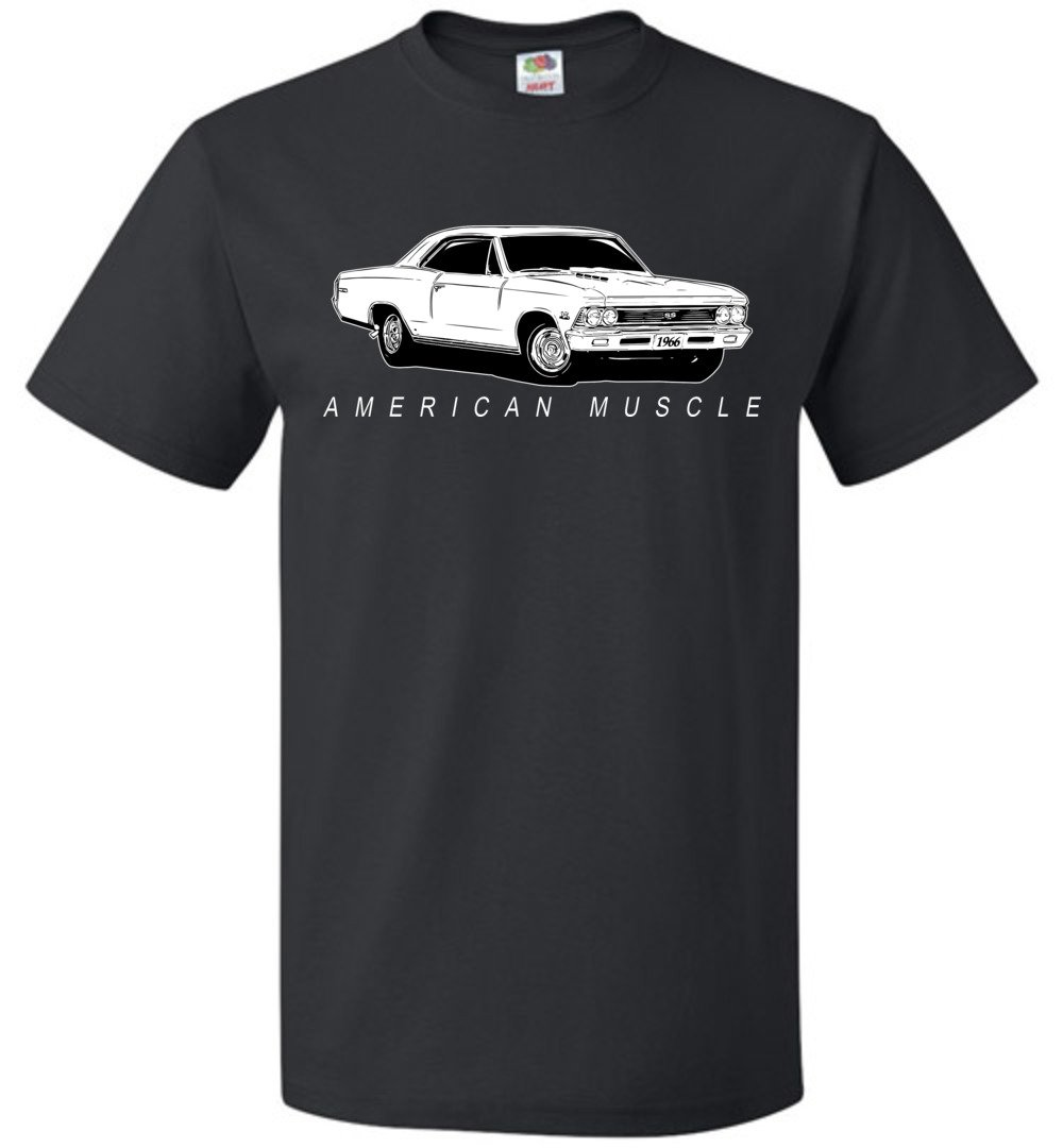 1966 Chevrolet Chevelle T-Shirt | Aggressive Thread Muscle Car Apparel