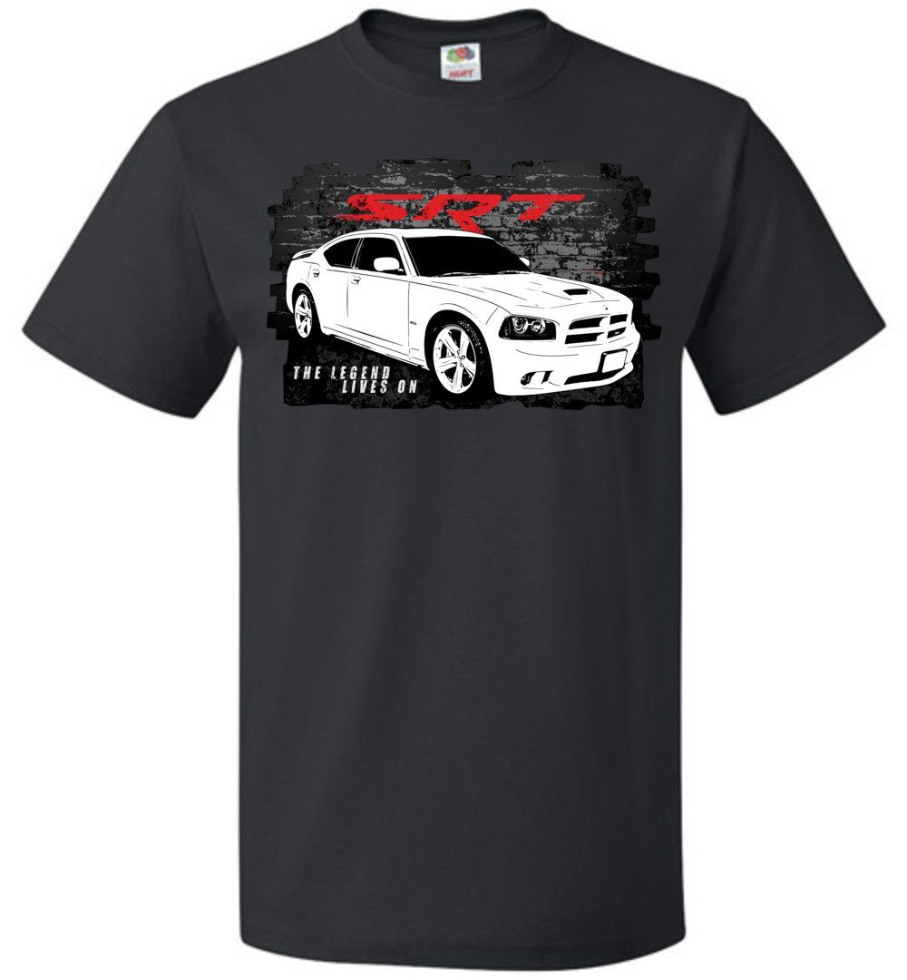 2006-2010 Dodge Charger SRT8 T-Shirt | Mopar T-shirt | SRT | Aggressive Thread Muscle Car Apparel