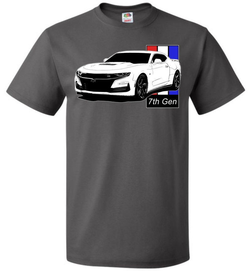 Camaro T-Shirt | 7th gen Camaro | Aggressive Thread Muscle Car Apparel