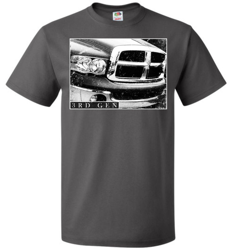 Cummins T-Shirt | 3rd Gen Dodge ram Cummins | Aggressive Thread Diesel Truck Apparel
