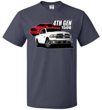 4th gen Ram Truck T-Shirt | Aggressive Thread Truck Apparel