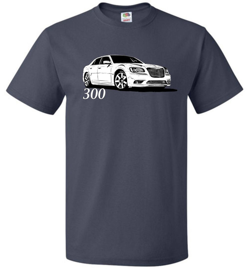 2011-2014 Dodge Charger T-Shirt | Mopar T-shirt | Hemi 5.7 | Aggressive Thread Muscle Car Apparel