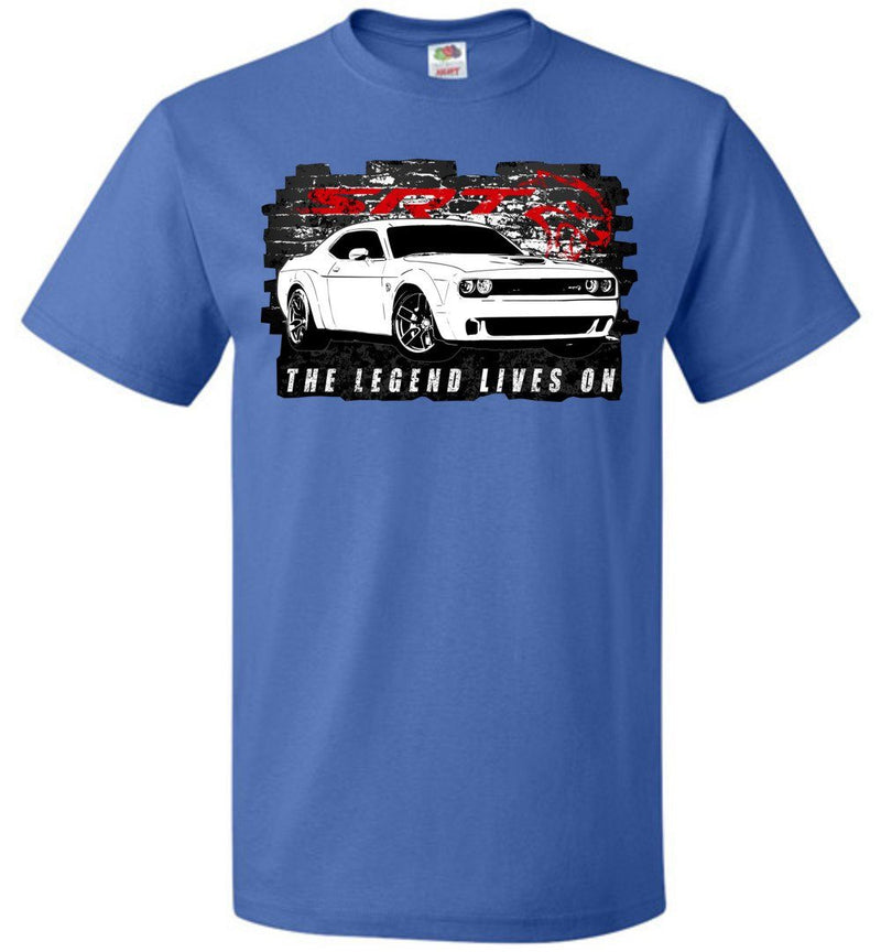 Dodge Challenger Shirt | Dodge Demon T-Shirt | Mopar Apparel | Aggressive Thread Muscle Car Apparel