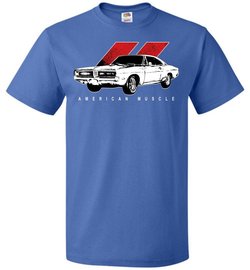 69 Dodge Charger R/T | Mopar T-Shirt | Aggressive Thread Muscle Car Apparel