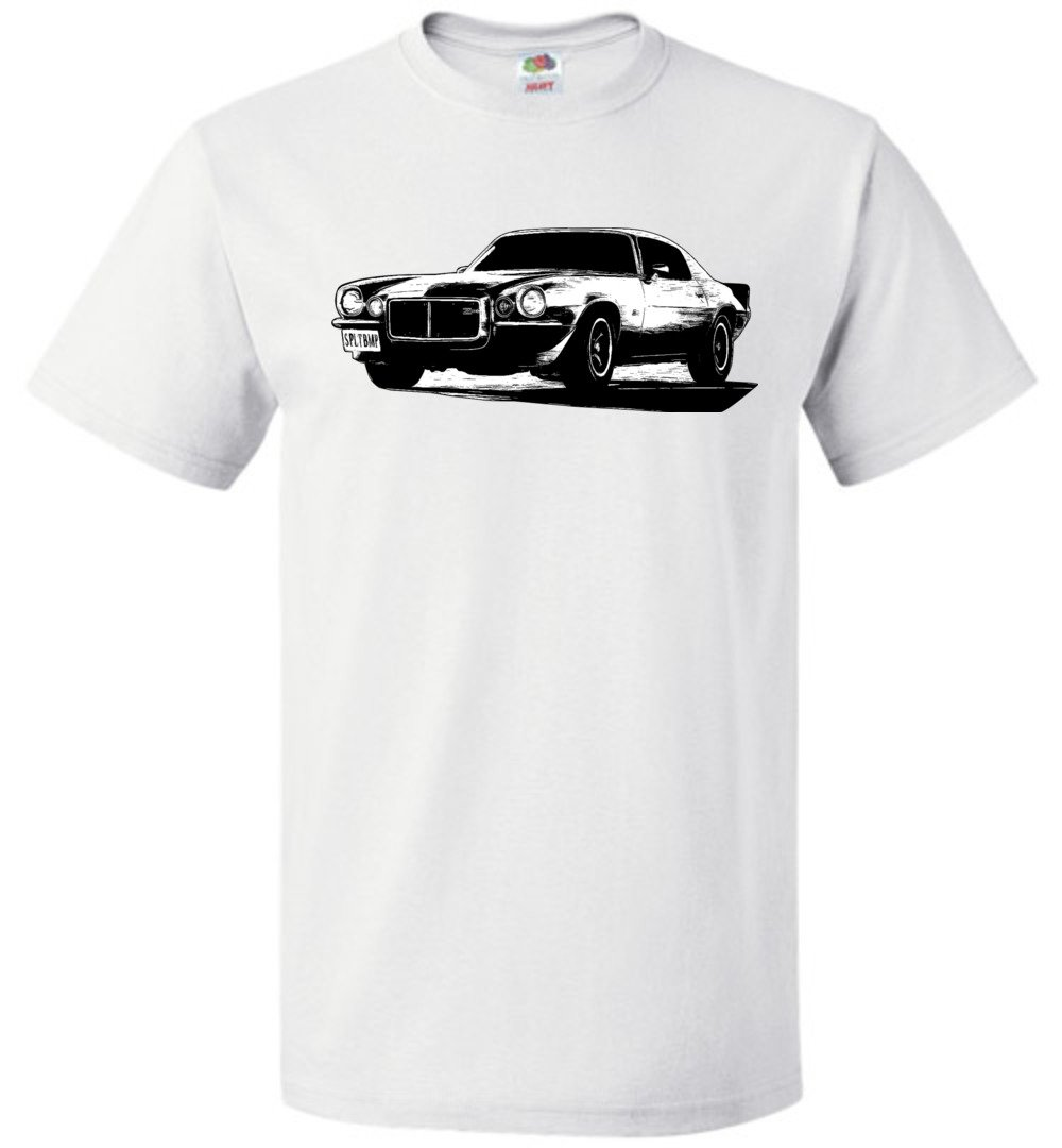 Camaro T-Shirt | 70-73 Camaro | Aggressive Thread Muscle Car Apparel