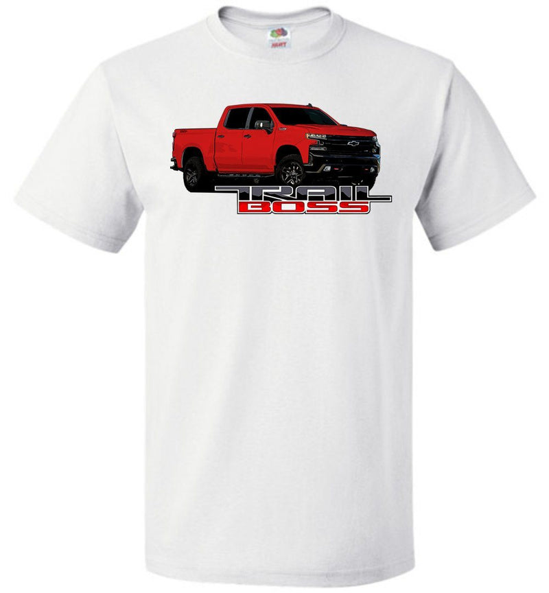 Red Trail Boss Chevy Truck T-Shirt