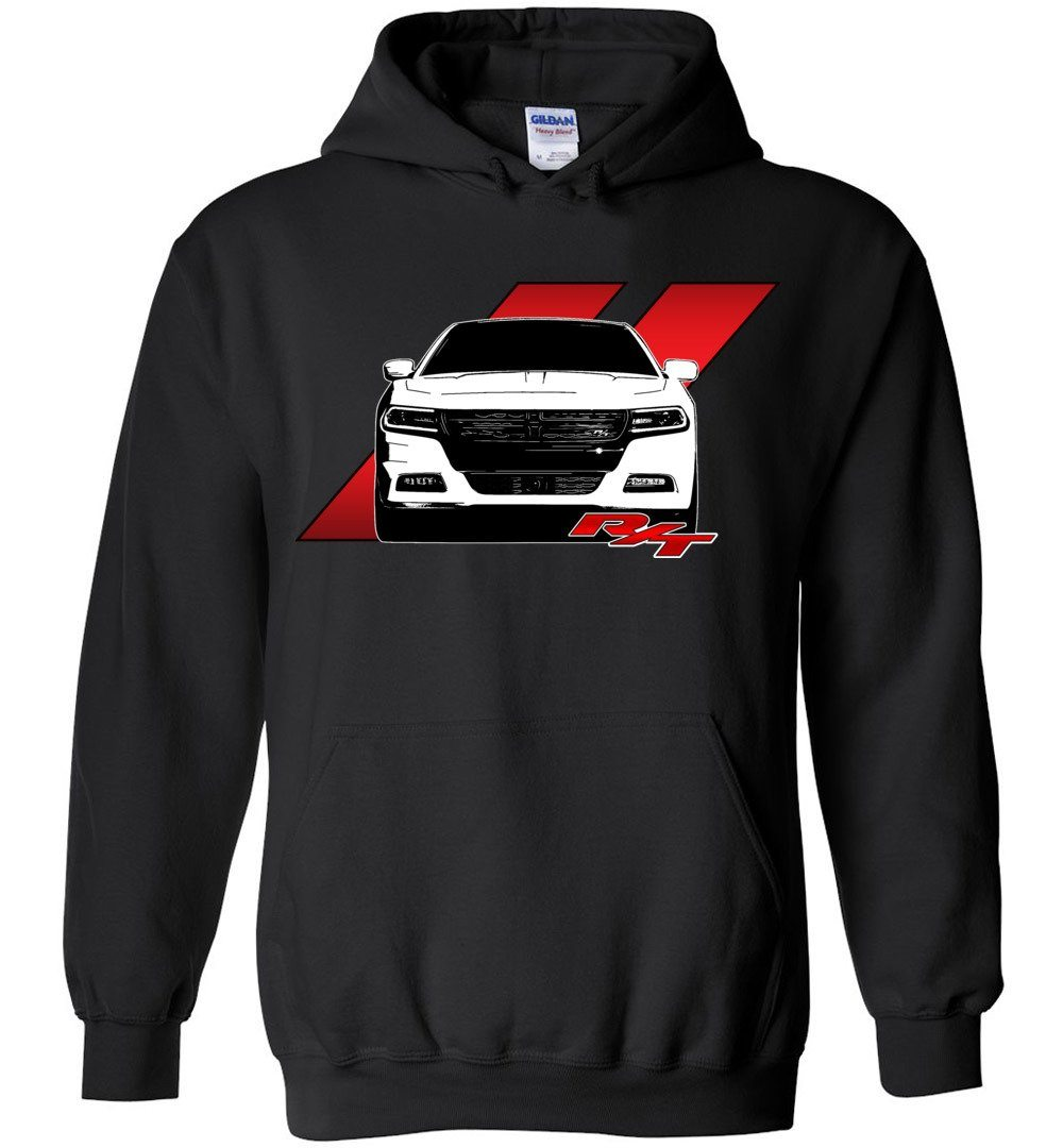 Dodge Charger RT Hoodie | Mopar sweatshirt | Hemi 5.7 | Aggressive Thread Muscle Car Apparel
