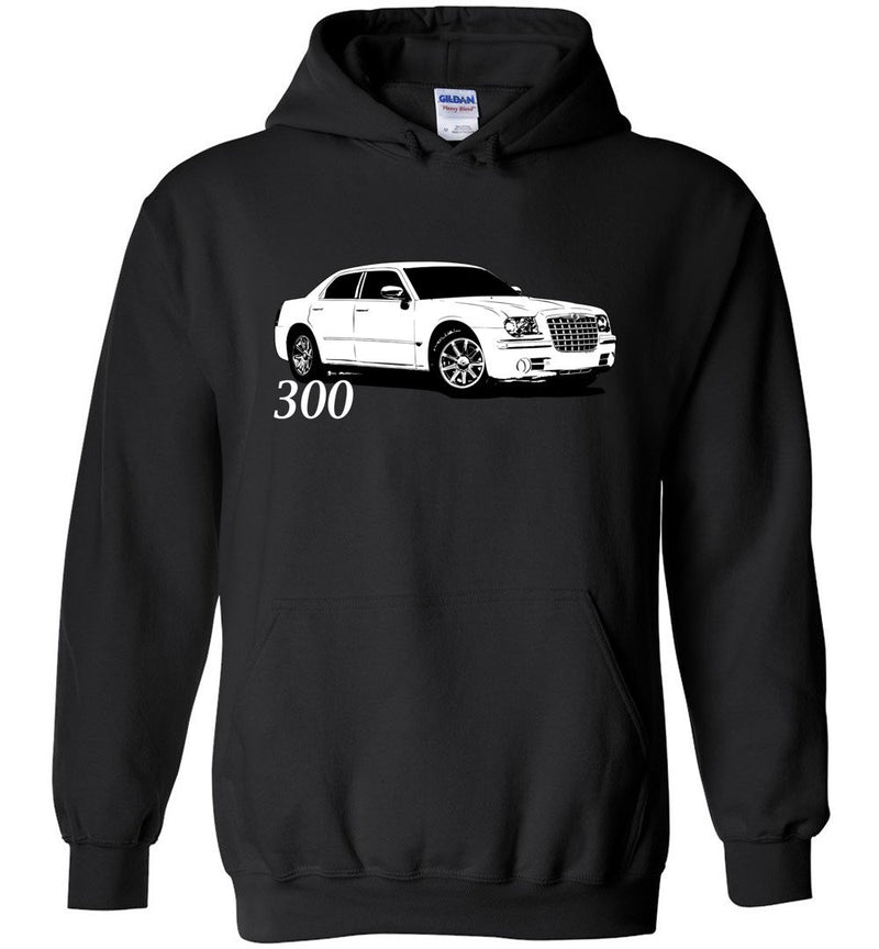 05-10 Chrysler 300 Hoodie | Mopar Sweatshirt | Aggressive Thread