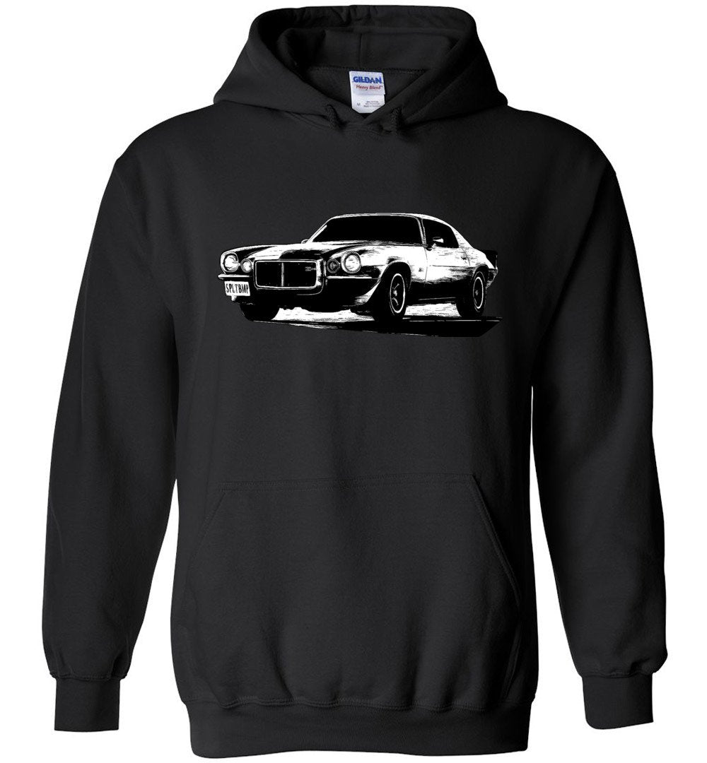 Camaro Hoodie Sweatshirt | 70-73 Camaro | Aggressive Thread Muscle Car Apparel