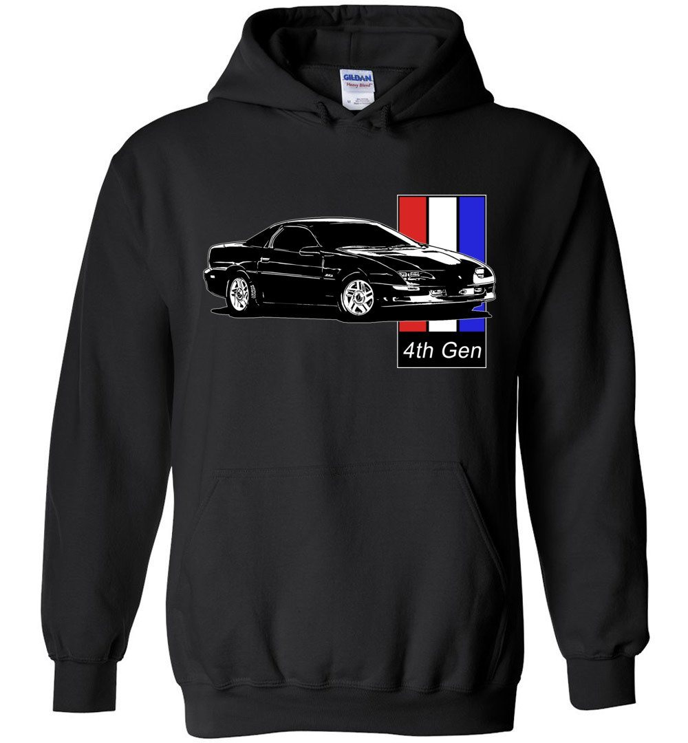 4th gen Chevy Camaro Hoodie | Camaro Sweatshirt | Aggressive Thread Auto Apparel