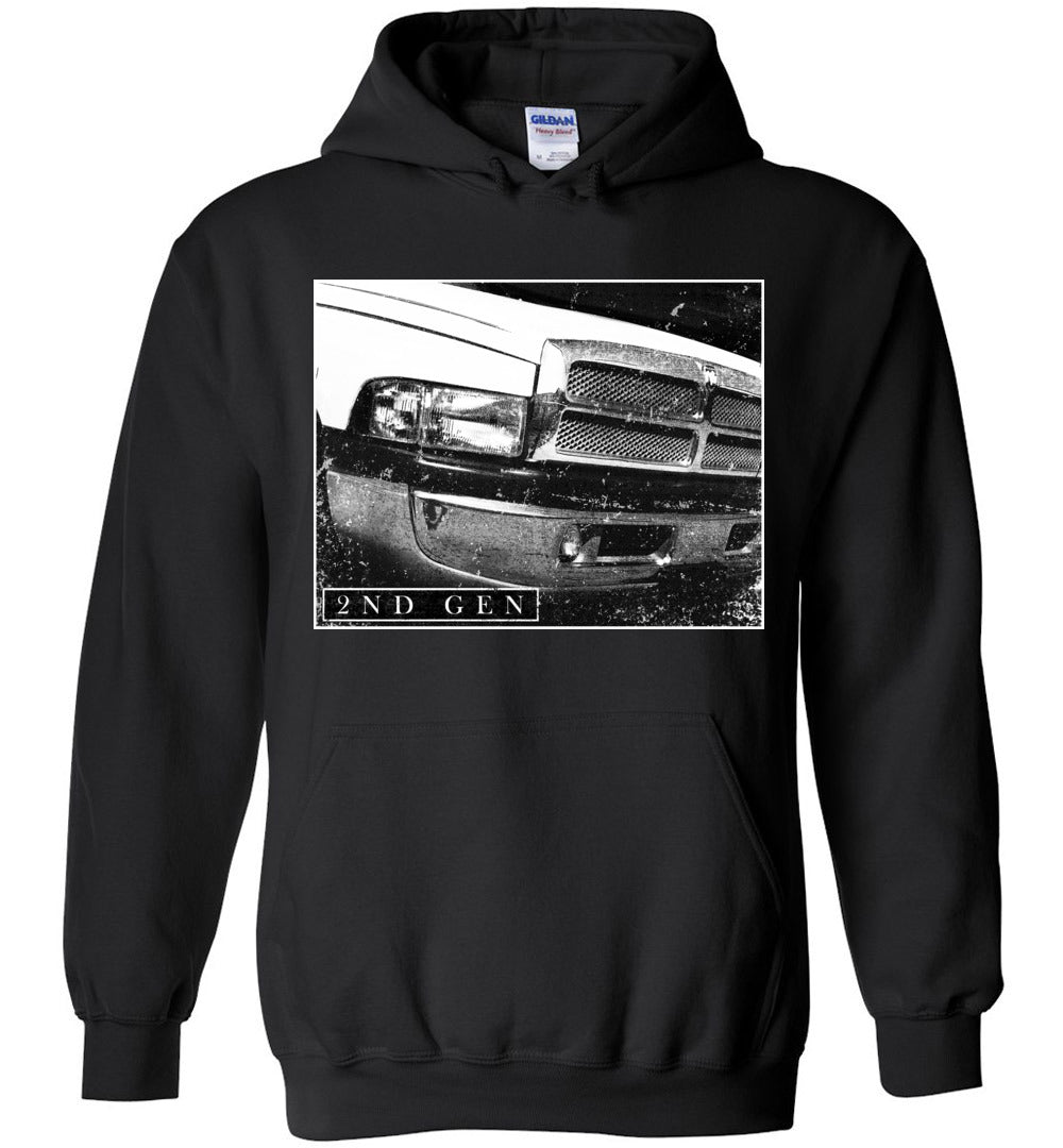 Cummins hoodie | 2nd Gen Dode ram Cummins | Aggressive Thread Diesel Truck Apparel