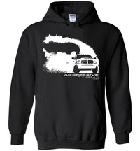 Ram Burnout Rolling Coal  Hoodie Sweatshirt - Aggressive Thread Diesel Truck T-Shirts