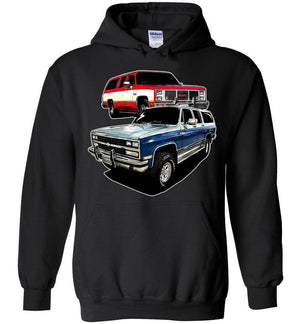 Square Body Chevy Sweatshirt | Squarebody Hoodie | Aggressive Thread Diesel Truck Apparel