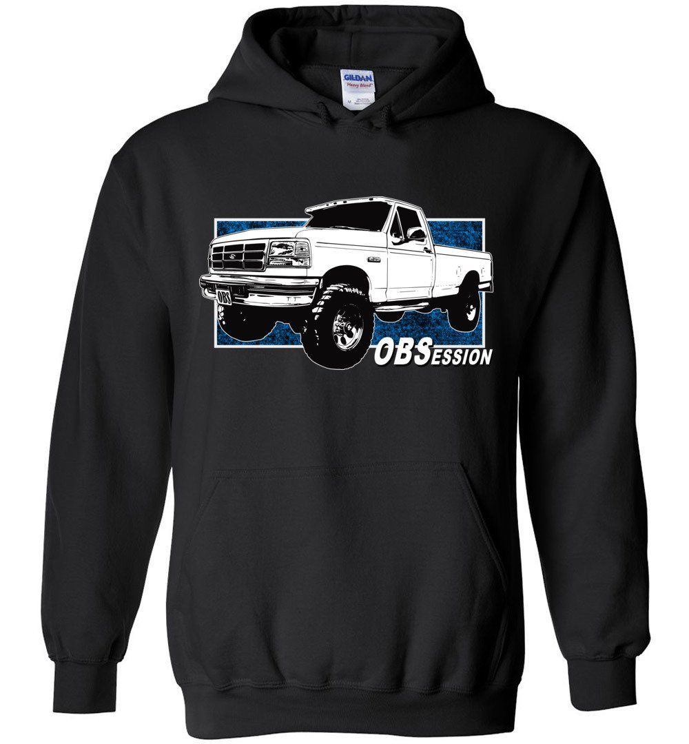 Ford OBS Truck Hoodie | Ford OBS Sweatshirt | Aggressive Thread Diesel Truck Apparel