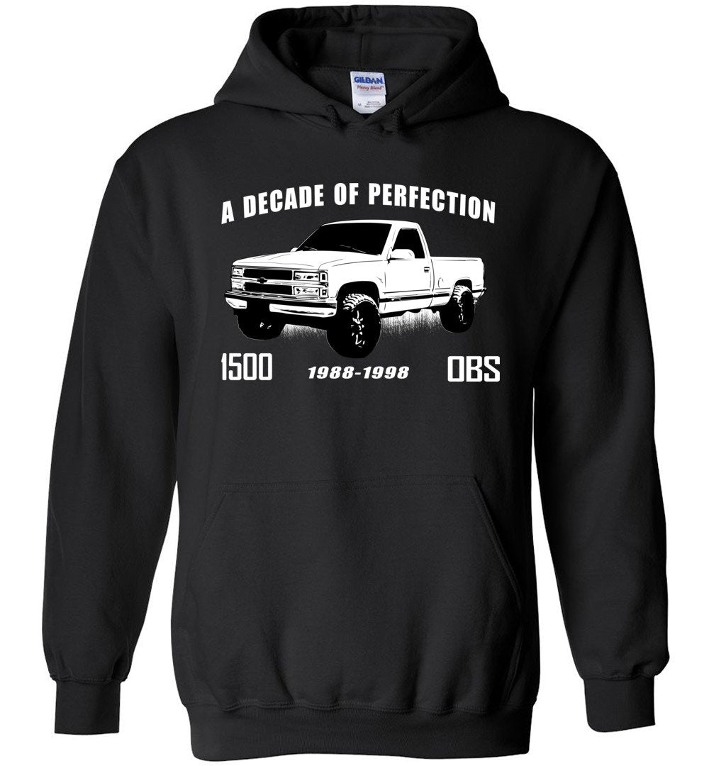 OBS Chevy 1500 Hoodie | Chevy Sweatshirt | Aggressive Thread Truck Apparel