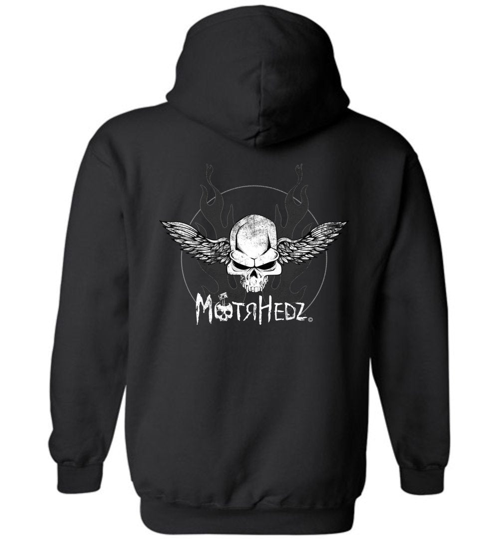 Skull and Wings Hoodie SWeatshirt