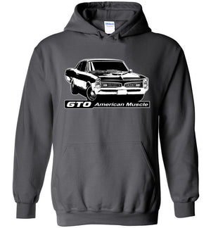 1967 Pontiac GTO Hoodie | Aggressive Thread Auto Apparel