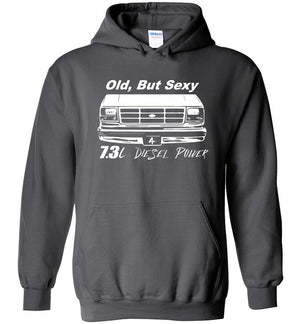 Ford OBS Hoodie | OBS Powerstroke Sweatshirt | Aggressive Thread Diesel Truck Apparel