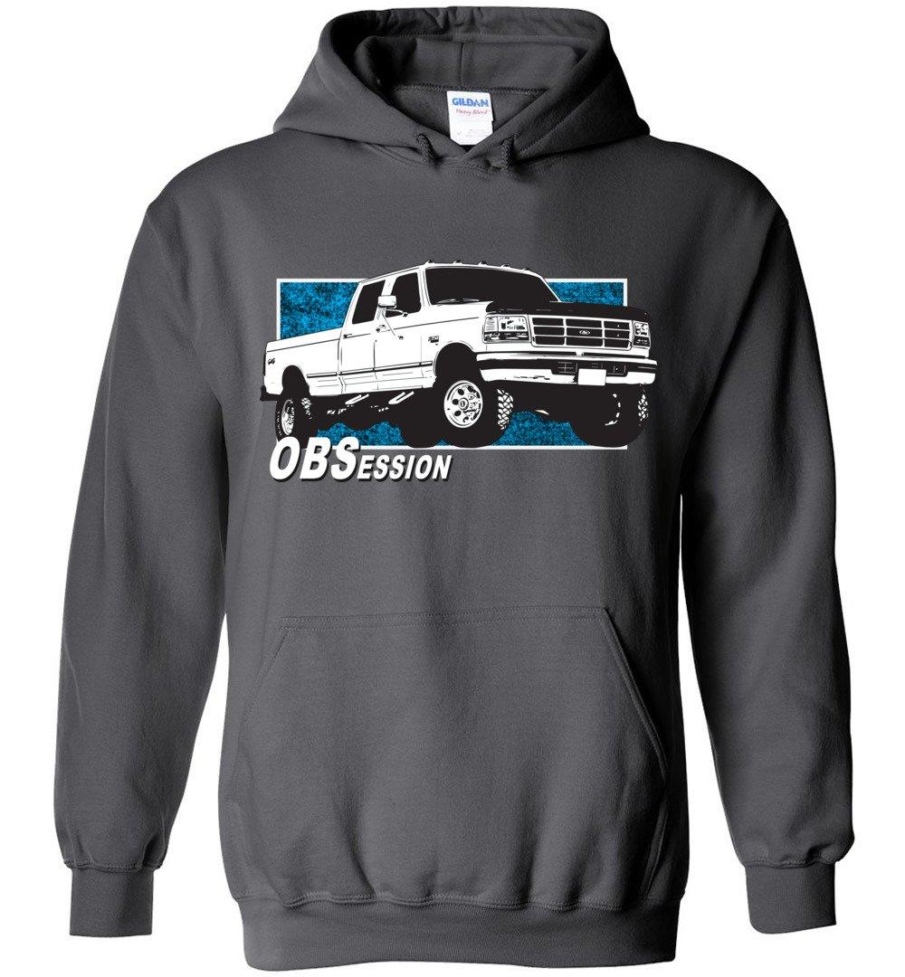 Ford OBS Crew Cab Hoodie | Ford OBS Sweatshirt | Aggressive Thread Diesel Truck Apparel